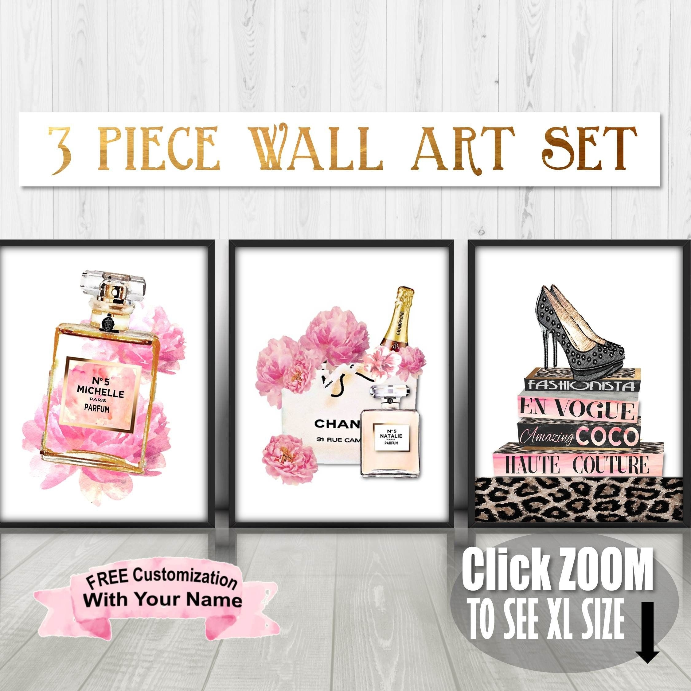 Fashion Wall Art, Fashion Illustration, Fashion Prints, Fashion Intended For Most Current Fashion Wall Art (View 12 of 20)