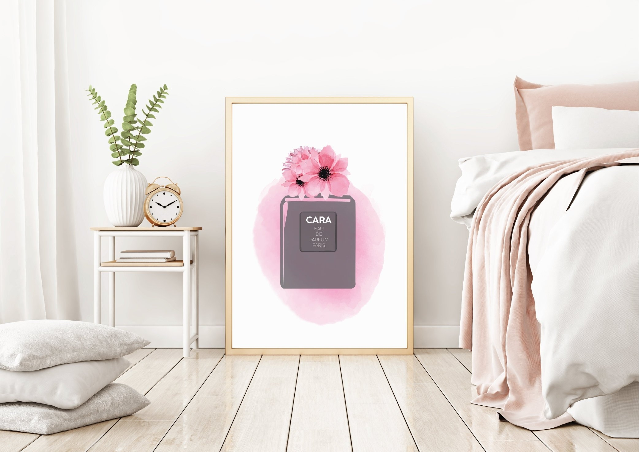 Fashion Wall Art | Personalized Perfume Bottle Print | Custom Wall With Regard To Most Up To Date Fashion Wall Art (Gallery 20 of 20)