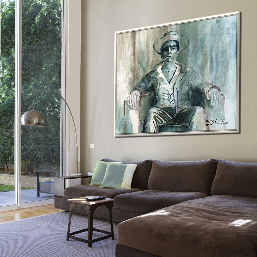 Figure Art, Extra Large Wall Art, Contemporary Art, Art Print Intended For Latest Manly Wall Art (View 8 of 20)