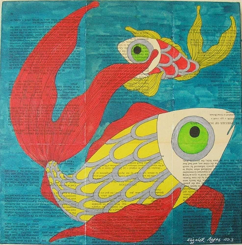 Fish Wall Art, Sea Life Wall Art, Fishes Wall Art, Fish Art, Sea With Best And Newest Sea Life Wall Art (View 5 of 15)