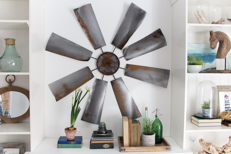 Fixer Upper Decor: Diy Windmill in Current Windmill Wall Art