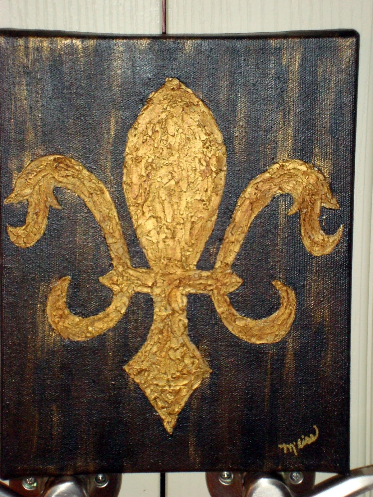 Fleur De Lis Wall Art Painting : Andrews Living Arts – Make Fleur De In Most Recently Released Fleur De Lis Wall Art (Gallery 10 of 20)