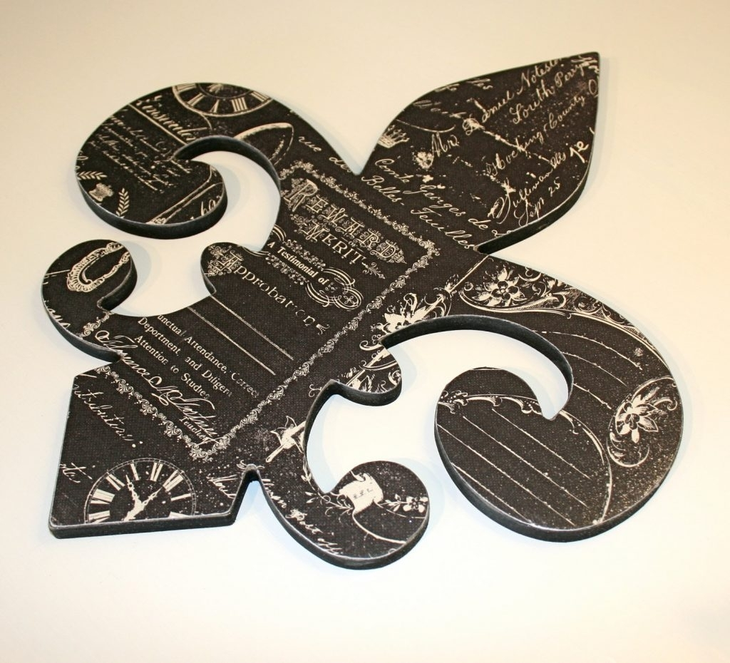 Fleur De Lis Wall Art – Unavocecr Regarding Most Recently Released Fleur De Lis Wall Art (View 9 of 20)