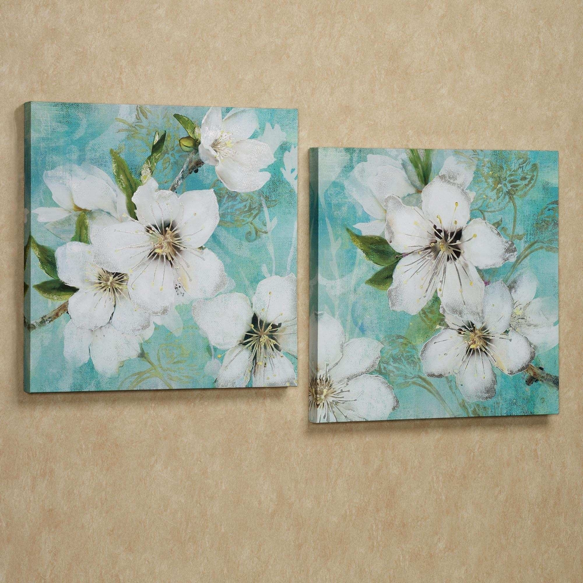 Floral Canvas Wall Art Fresh 20 Ideas Of Floral Wall Art Canvas throughout Most Up-to-Date Floral Canvas Wall Art