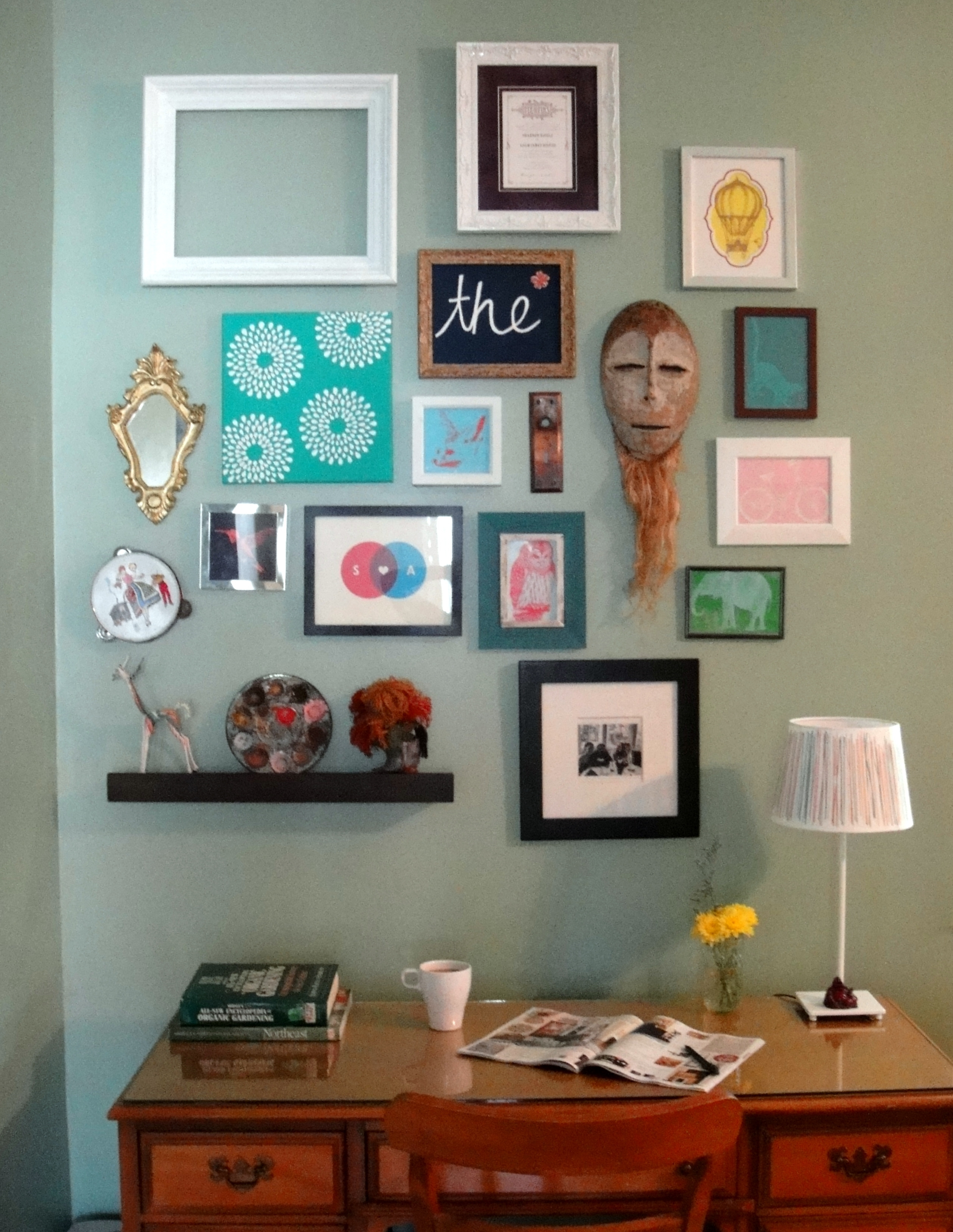 Framed Art Gallery Wall | So Pretty Is As Pretty Does (View 10 of 20)
