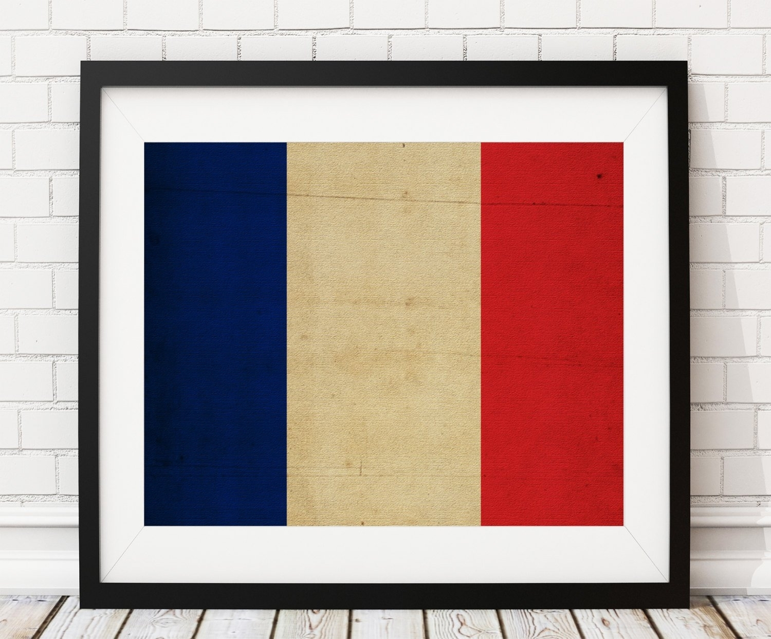 France Flag Art, France Flag Print, French Flag Poster, Country Flag In Most Recently Released Country Wall Art (View 16 of 20)