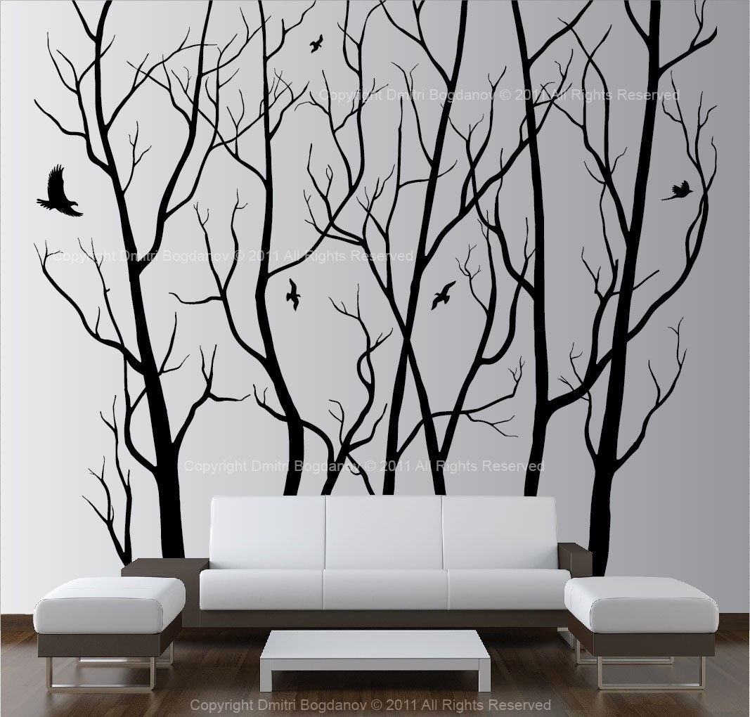Fresh Wall Art Ideas Tree | Wall Decorations with regard to Most Up-to-Date Wall Tree Art