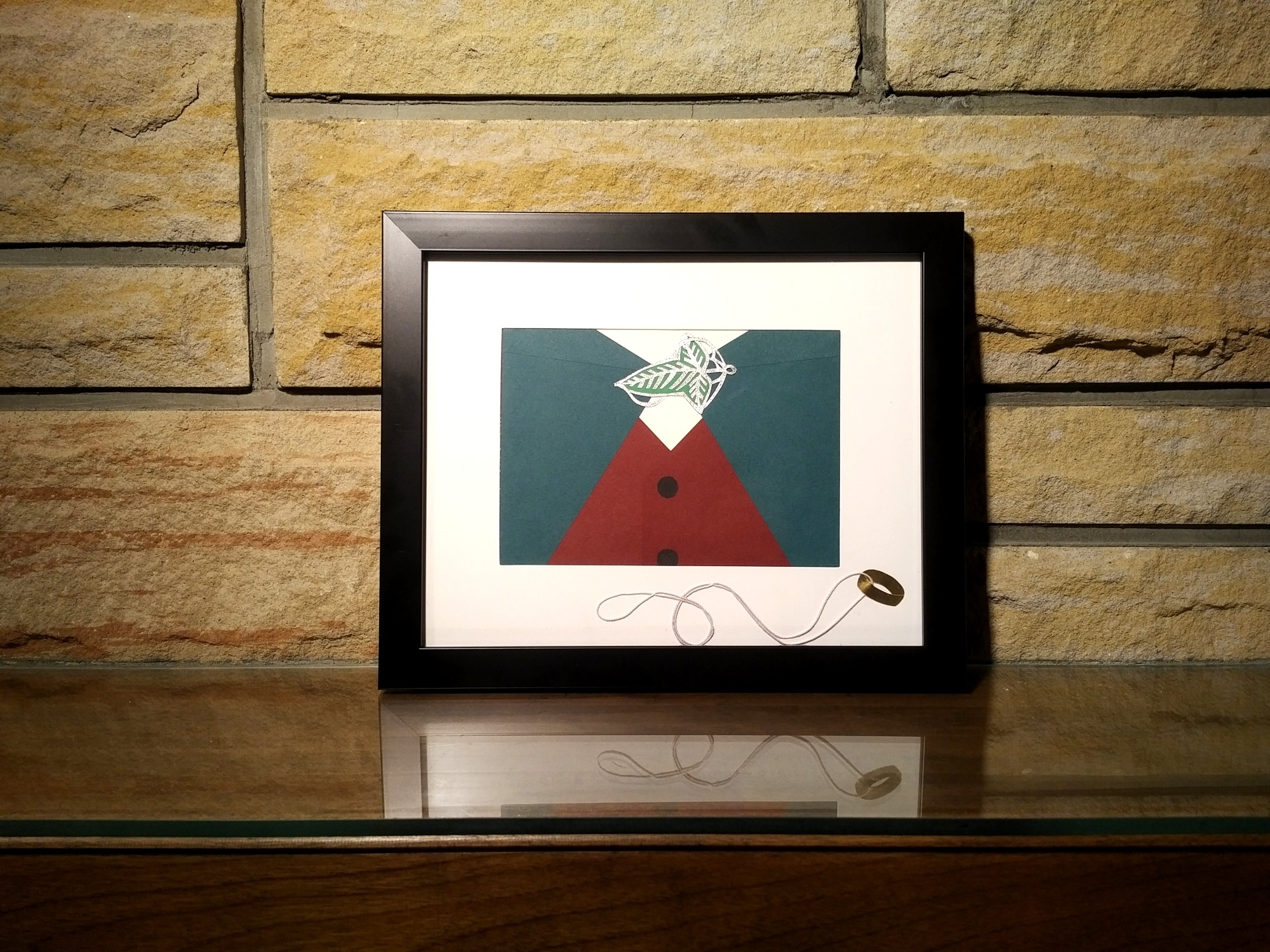 Frodo (Lord Of The Rings) Wall Art – Framed · Rice Paper Designs Inside Newest Lord Of The Rings Wall Art (View 7 of 20)