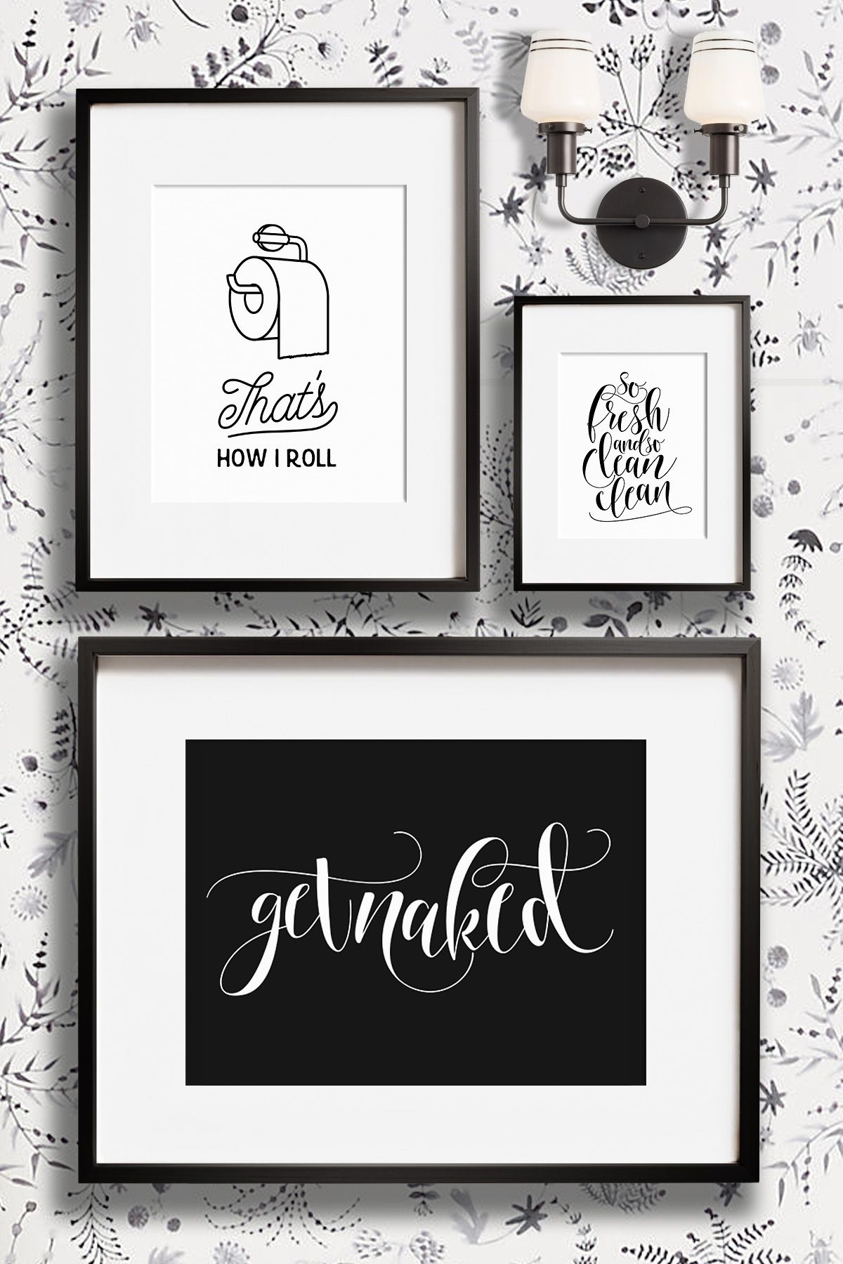 Funny Bathroom Wall Decor Art Prints – Printable Art And Prints From Inside Most Recently Released Bathroom Wall Art (View 9 of 15)