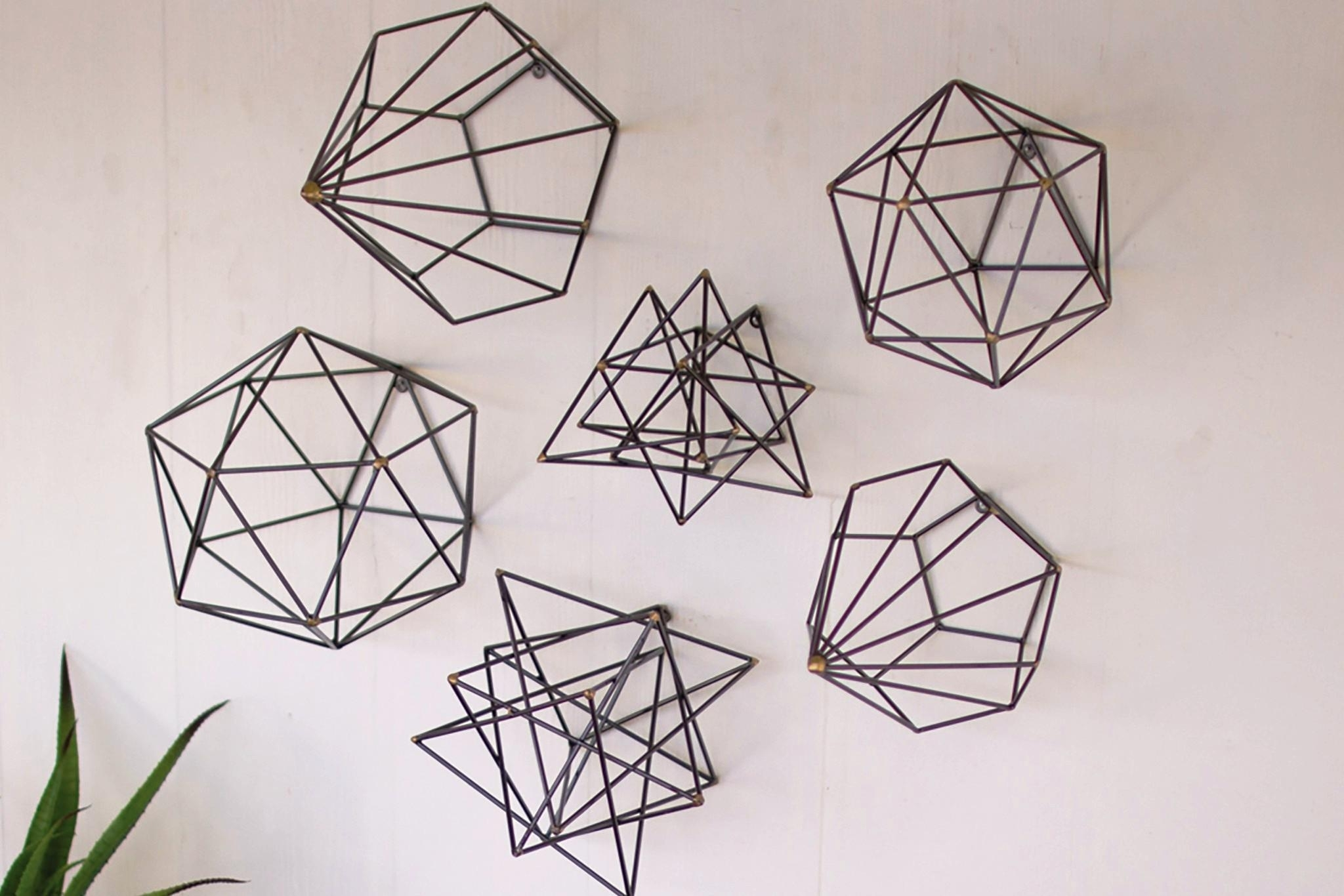 Geometric Wall Art Set — Biaf Media Home Design With Regard To Best And Newest Geometric Wall Art (Gallery 7 of 20)
