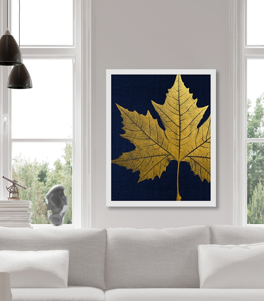 Gold Foil Wall Art – Elitflat Intended For Latest Gold Foil Wall Art (View 8 of 20)