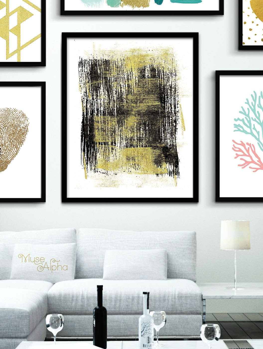 Gold Wall Decor Black And Gold Print Gold Printable Gold, Gold Wall Within Latest Black And Gold Wall Art (View 15 of 20)