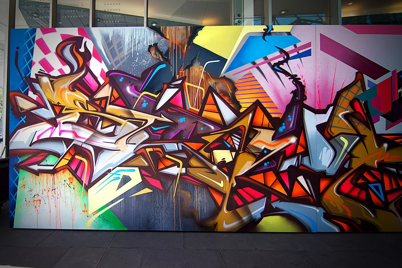 Graffiti | Street Art Regarding 2017 Graffiti Wall Art (View 17 of 20)