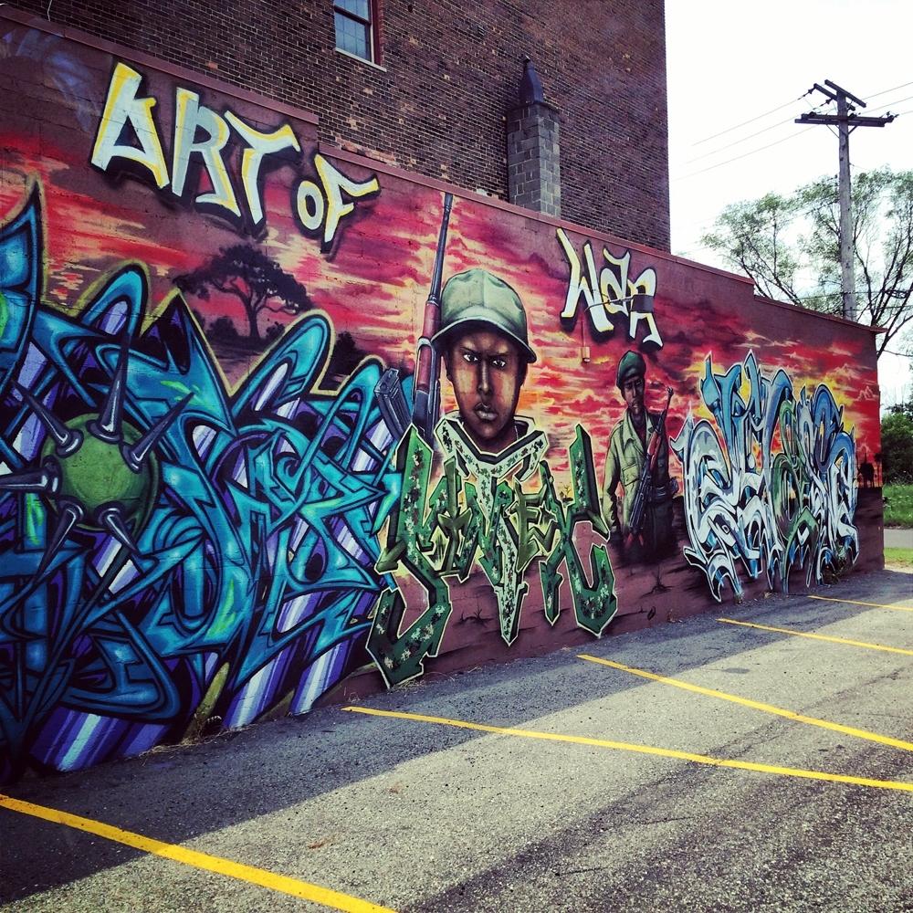 Graffiti Wall Art | The Belltowers Regarding Most Current Graffiti Wall Art (View 7 of 20)