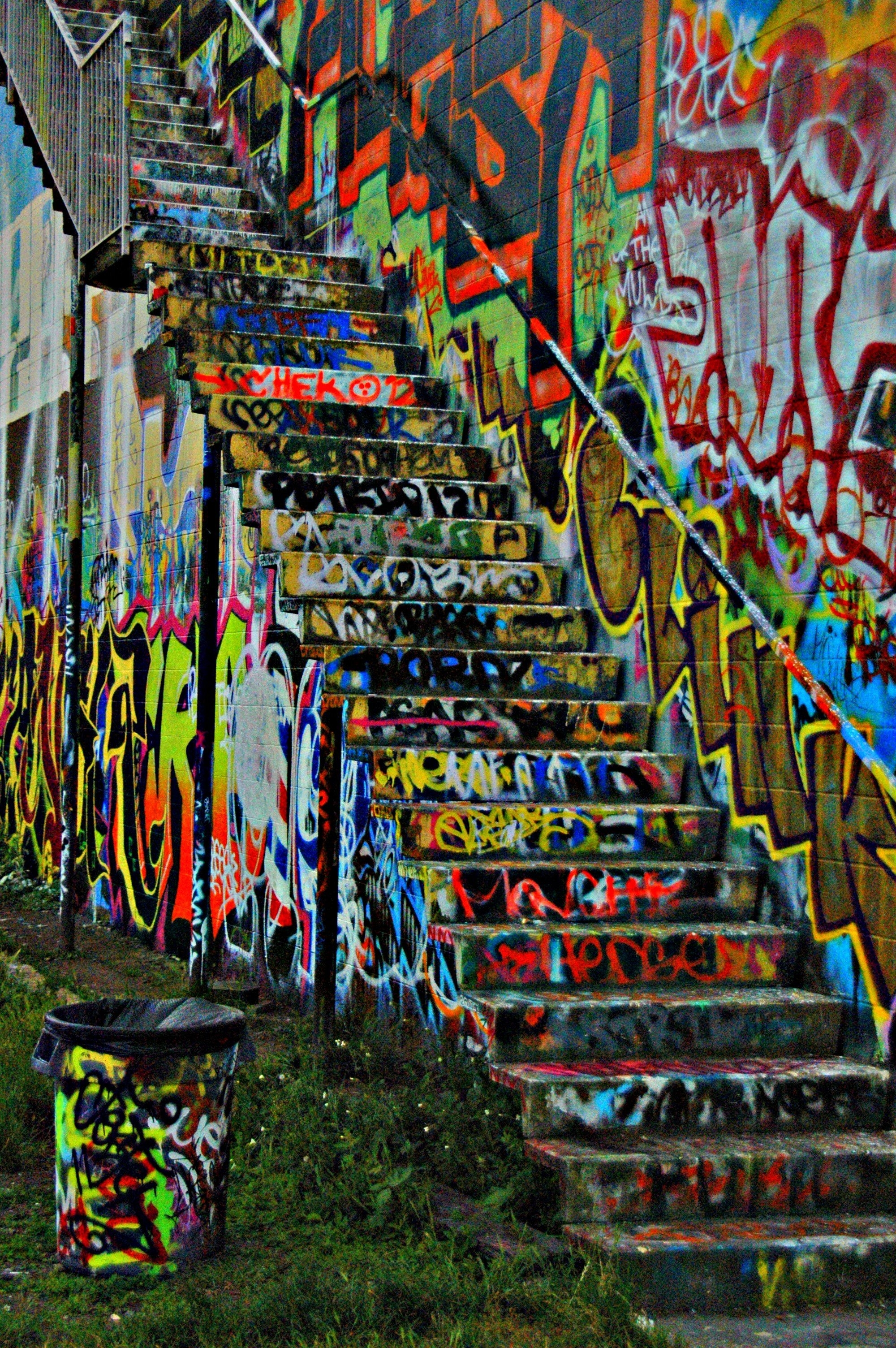 Graffiti Wall In Seattle!!:3 | My Pictures:) | Pinterest | Graffiti In Newest Graffiti Wall Art (Gallery 13 of 20)