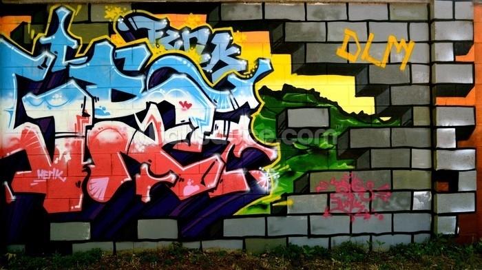 Graffiti Wallpaper & Wall Murals | Wallsauce Australia Regarding Most Up To Date Graffiti Wall Art (View 10 of 20)