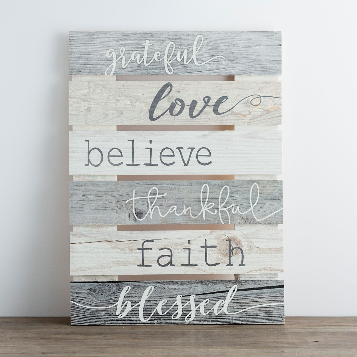 Grateful – Plank Wall Art | Dayspring With Regard To Most Current Plank Wall Art (View 7 of 20)