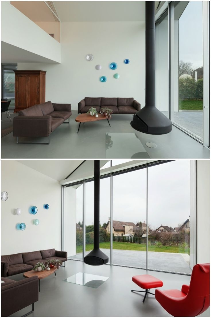 Hand Blown Glass Wall Art Installationalvitra Design | Glass In Most Up To Date Blown Glass Wall Art (View 4 of 20)