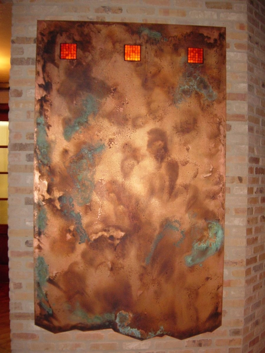 Handmade Copper Wall Artworkck Valenti Designs, Inc Within 2018 Copper Wall Art (View 14 of 15)