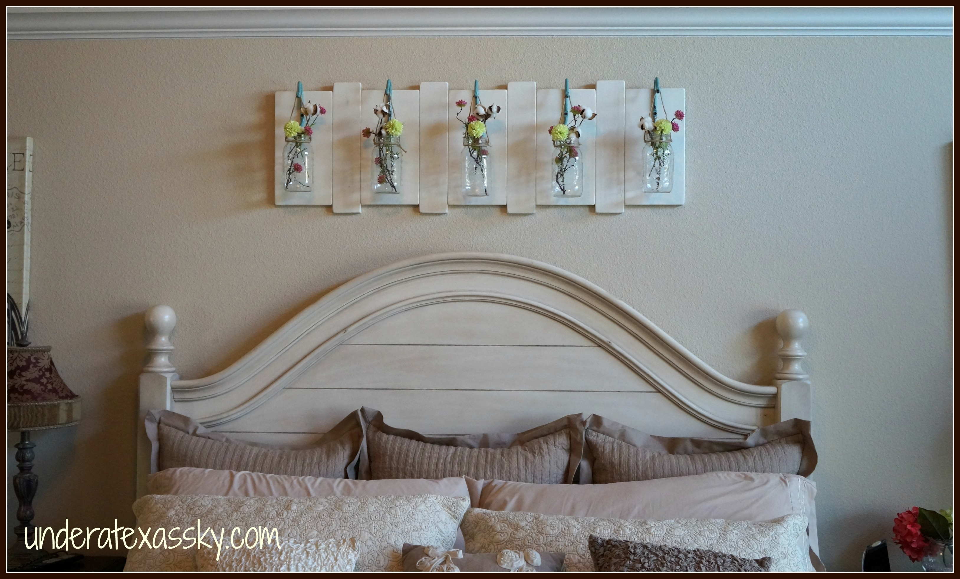 Hanging Mason Jars – Under A Texas Sky Throughout Newest Mason Jar Wall Art (View 16 of 20)