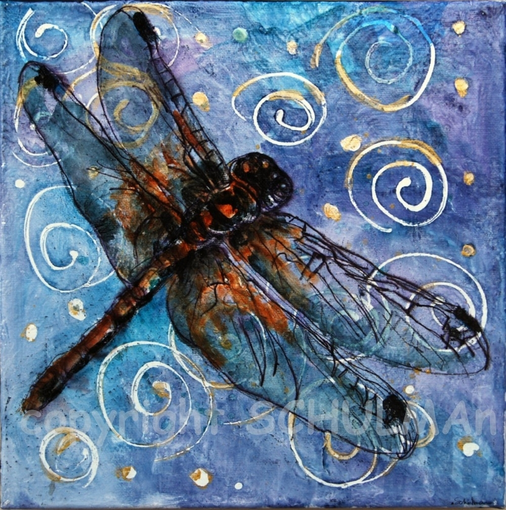 Happy Chinese New Year! | Schulman Art With Regard To Newest Dragonfly Painting Wall Art (Gallery 20 of 20)