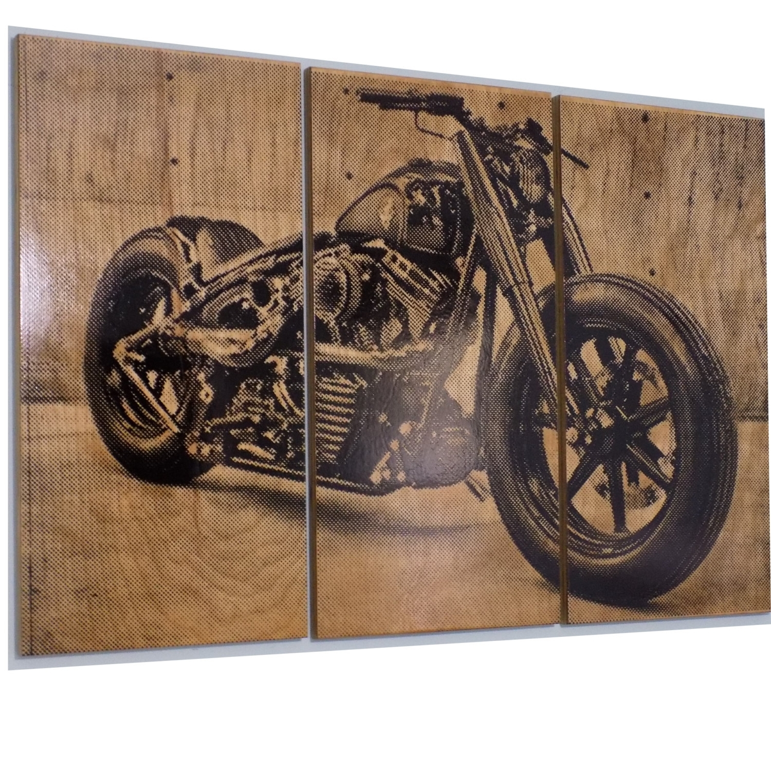 Harley Davidson Fatboy / Softail / Motorcycle / Bike Print, Harley Throughout Best And Newest Harley Davidson Wall Art (Gallery 18 of 20)