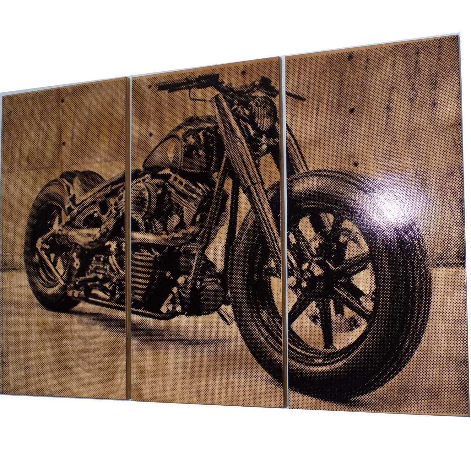 Harley Davidson Prints Wall Art Fresh Harley Davidson Fatboy Softail Regarding Most Recently Released Harley Davidson Wall Art (Gallery 9 of 20)