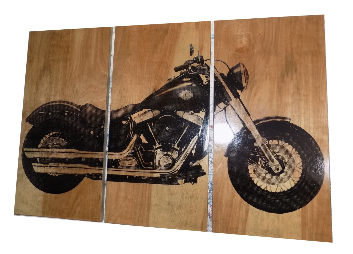 Harley Davidson Soft Tail Nice Harley Davidson Wall Art – Prix Dalle In Most Current Harley Davidson Wall Art (View 9 of 20)