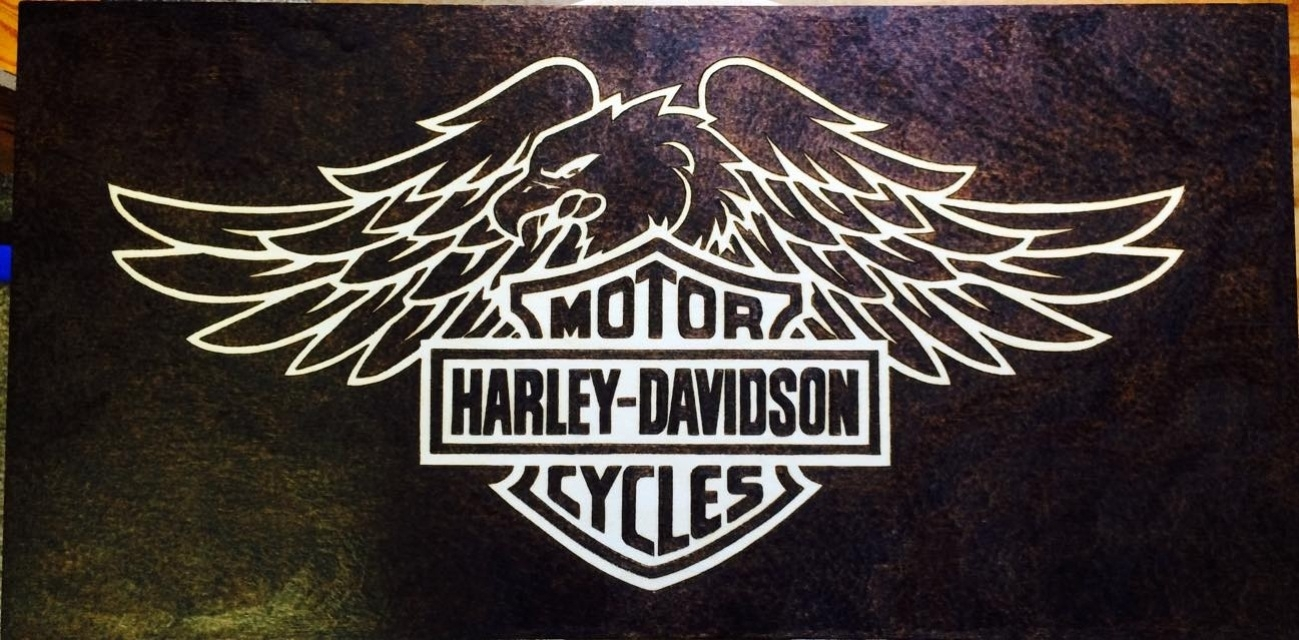 Harley Davidson Wall Art Pertaining To 2017 Harley Davidson Wall Art (Gallery 4 of 20)