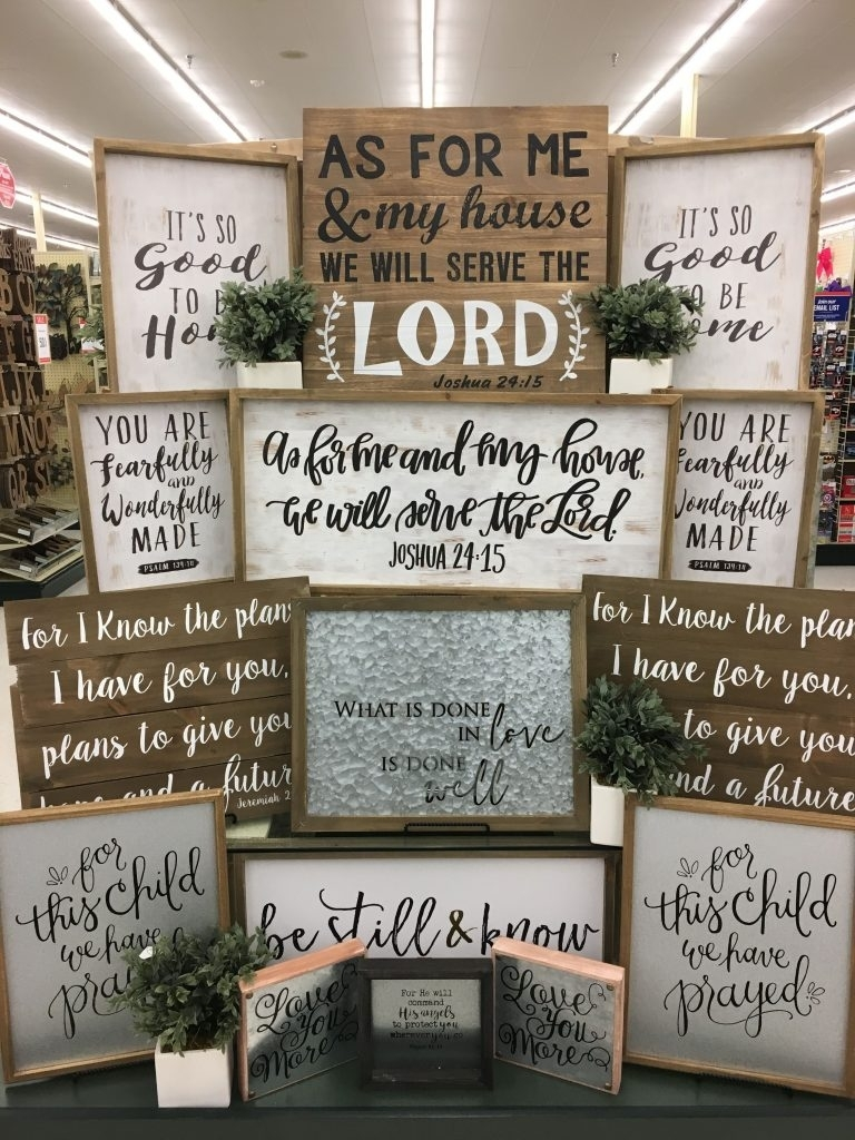 Hobby Lobby Wall Art – Culturehoop Pertaining To Current Hobby Lobby Wall Art (View 6 of 20)