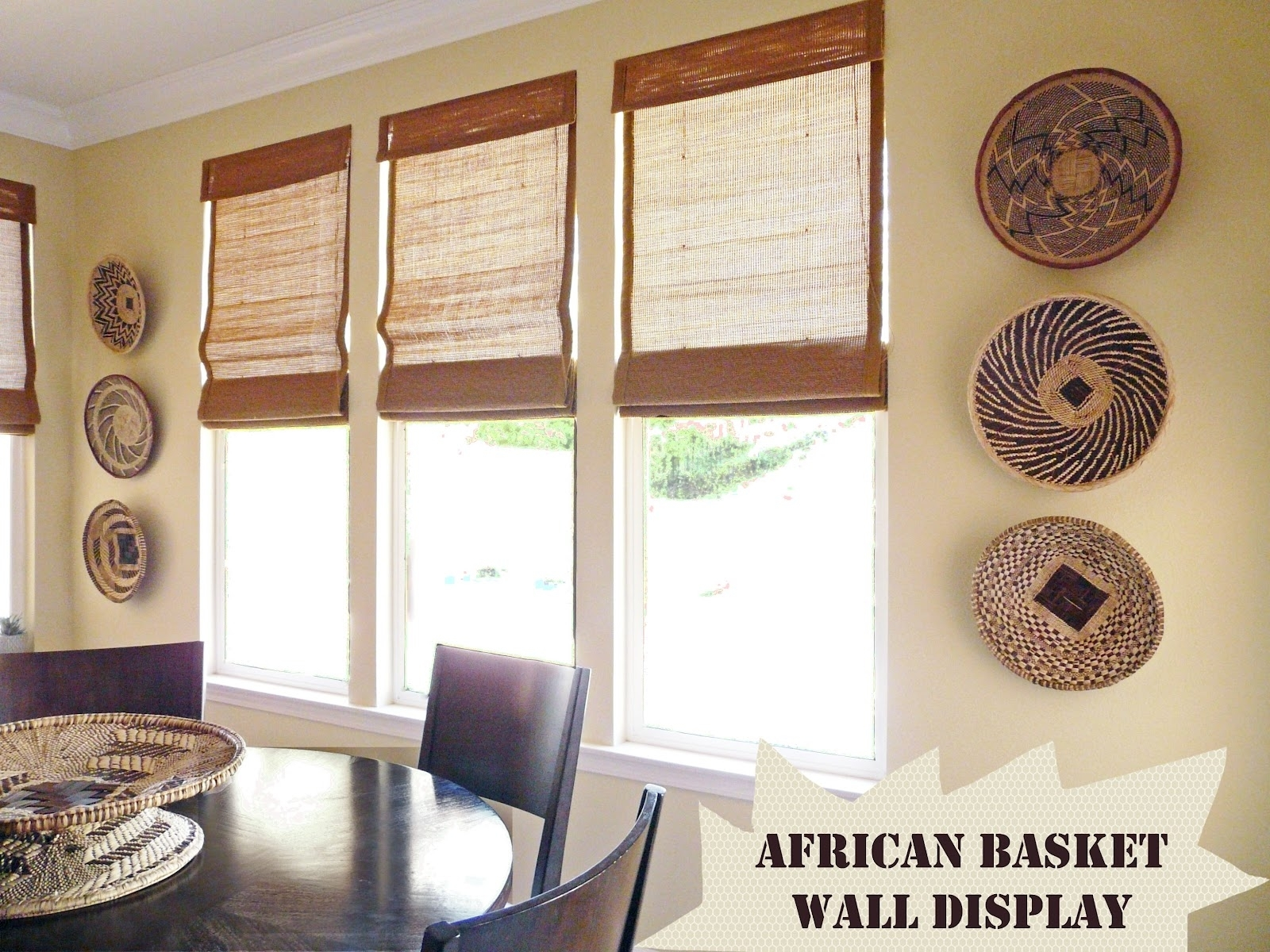 Home] African Basket Wall Decor Within Most Recent Woven Basket Wall Art (Gallery 10 of 20)