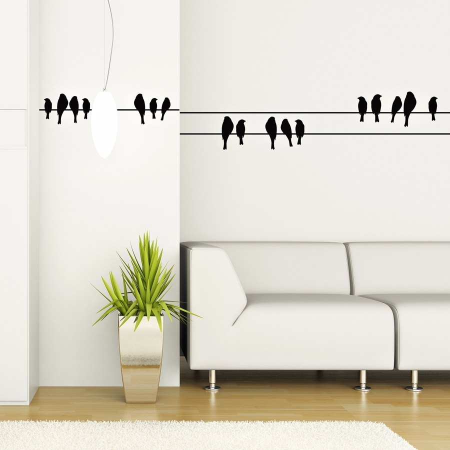Home Decors Idea: Vinyl Wall Art Intended For Best And Newest Home Wall Art (Gallery 3 of 20)