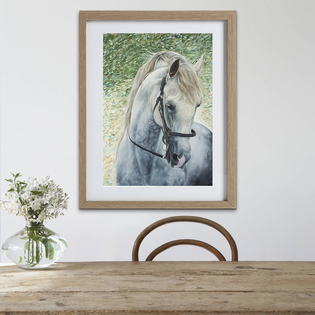Horse Wall Art | Framed Horse Prints | Horse Giftscaroline With Regard To Recent Horse Wall Art (View 6 of 15)