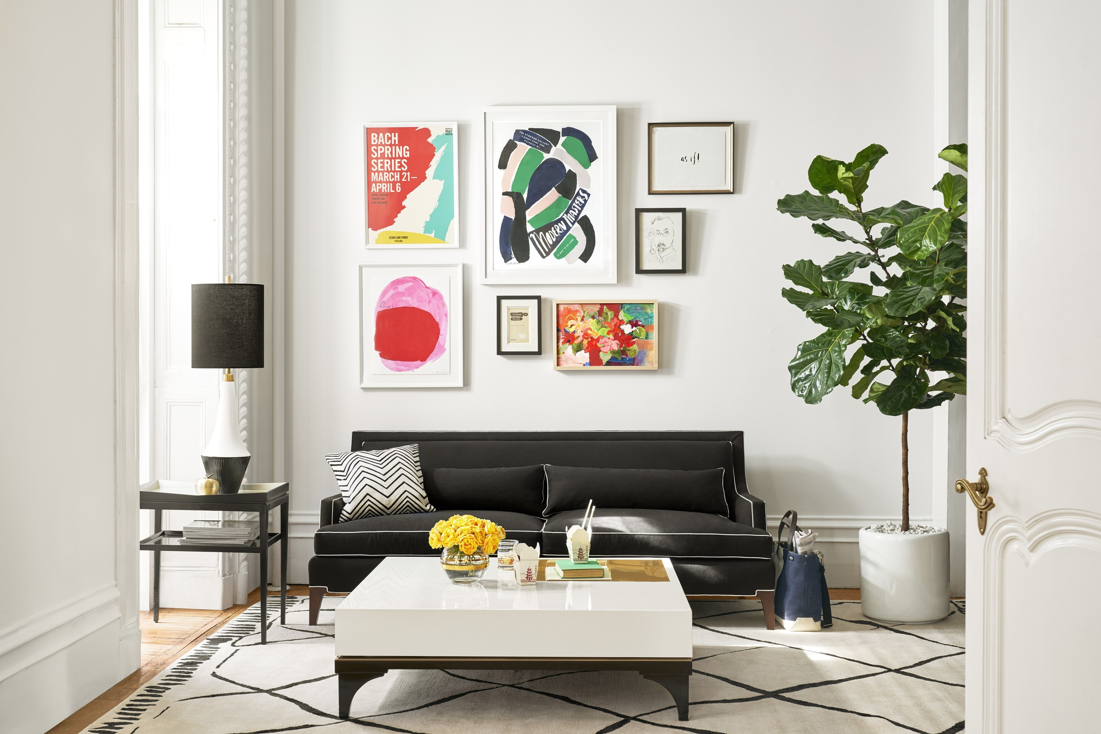 How To Choose The Right Art For A Gallery Wall | Architectural Digest With Most Recently Released Kate Spade Wall Art (View 5 of 20)