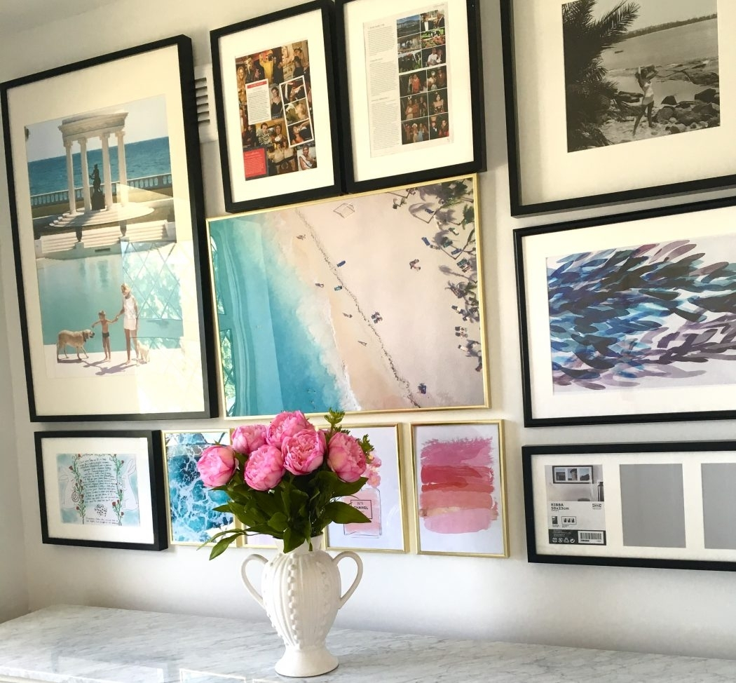 How To Create A Gallery Wall (And Where To Find Affordable Art Regarding 2018 Affordable Wall Art (View 15 of 20)