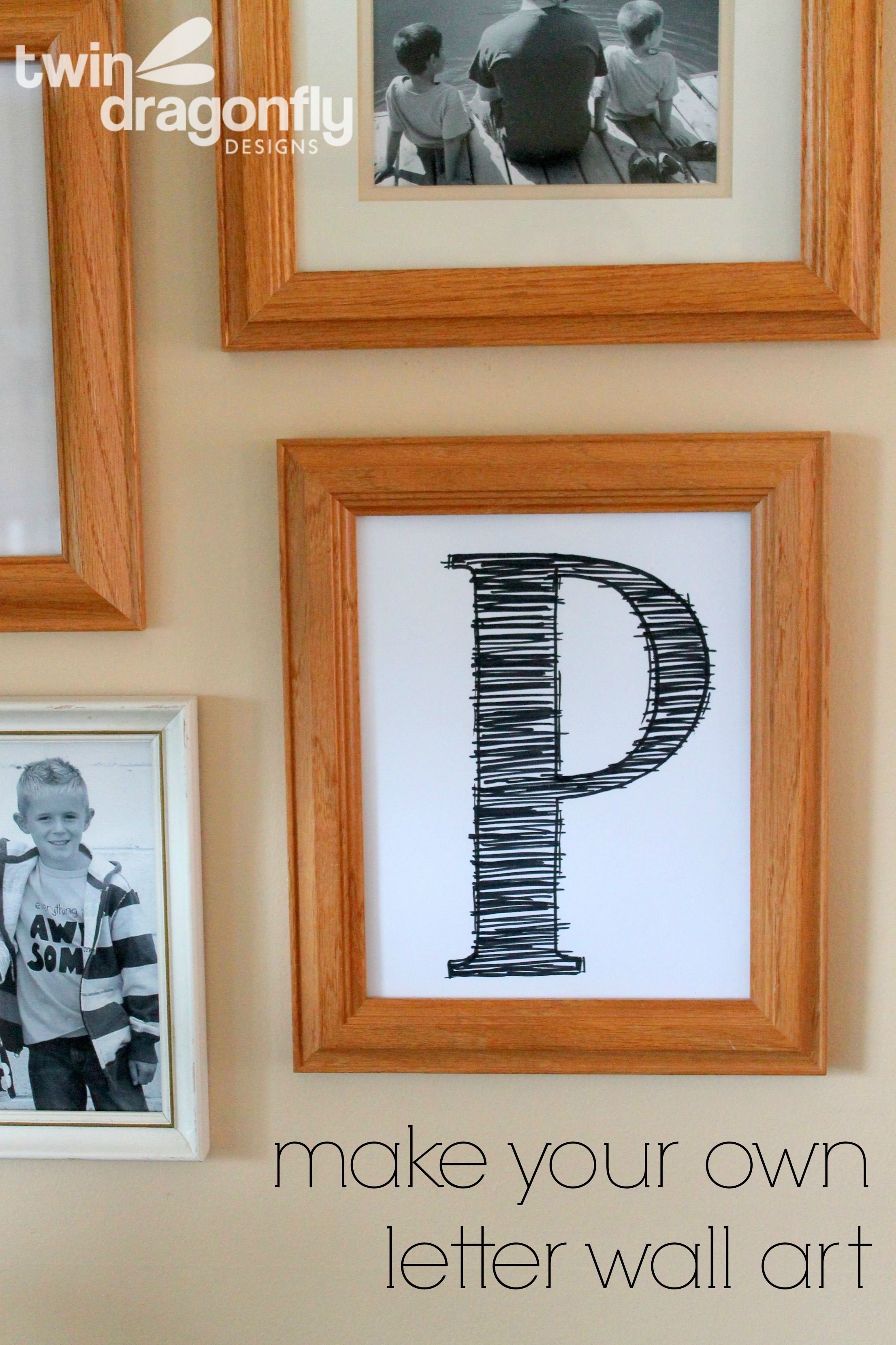 How To Create Letter Wall Art » Dragonfly Designs Throughout Current Letter Wall Art (View 6 of 20)