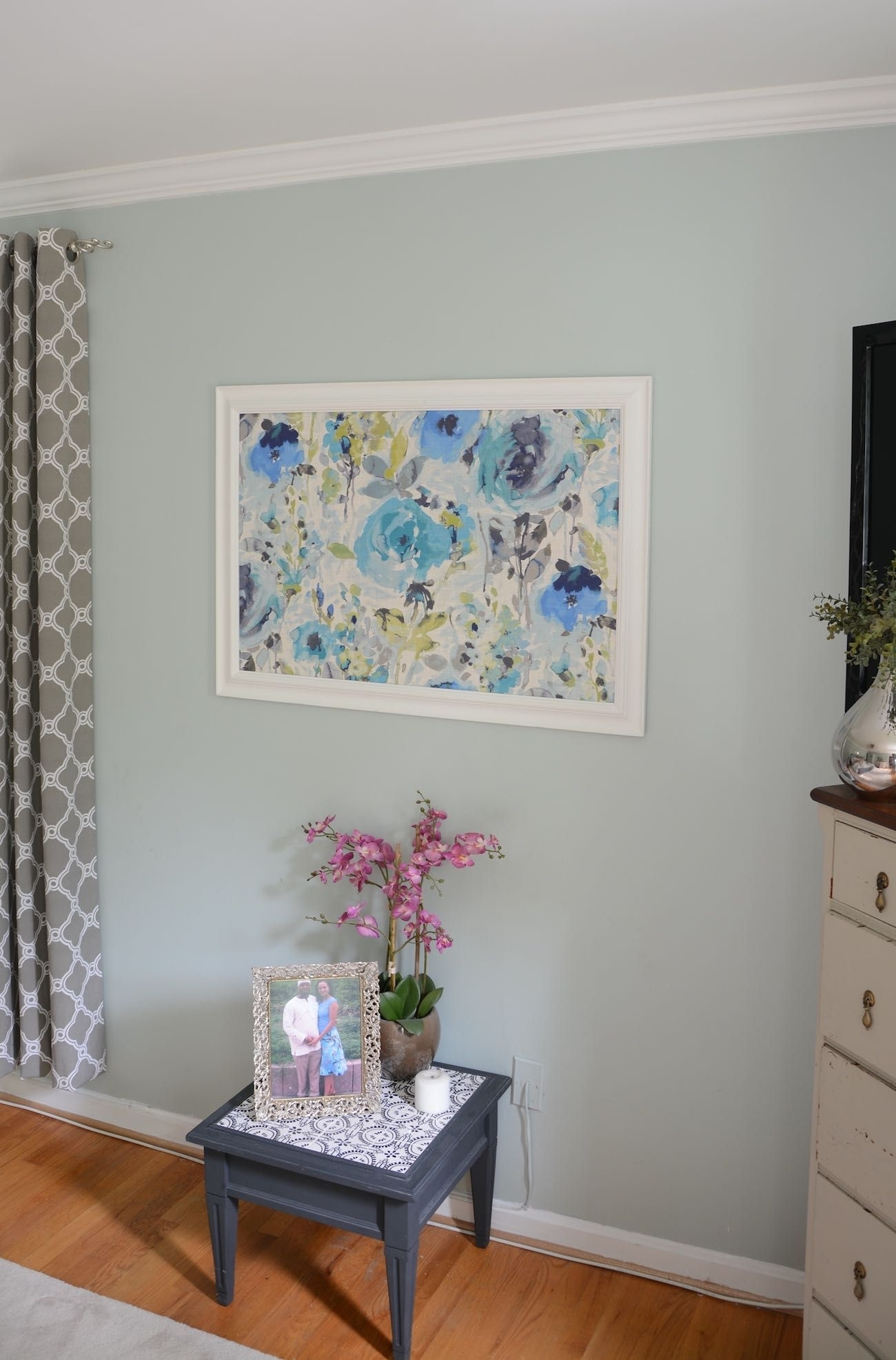 How To Frame Fabric For Wall Art With A Picture Frame | Inexpensive Regarding 2018 Inexpensive Wall Art (View 8 of 20)