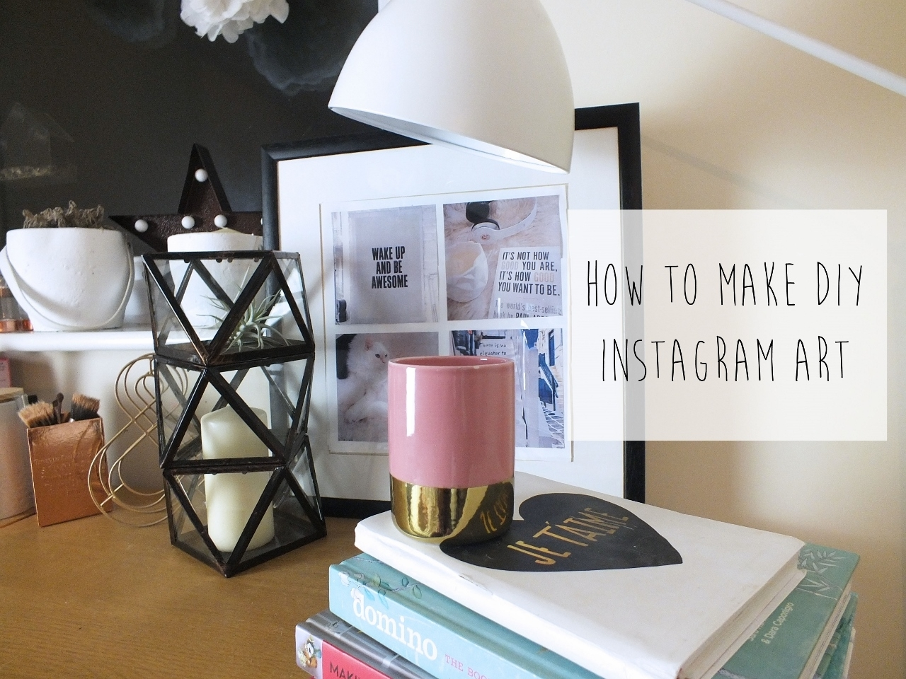 How To Make Diy Instagram Wall Art – Don't Cramp My Style For Latest Instagram Wall Art (Gallery 14 of 20)