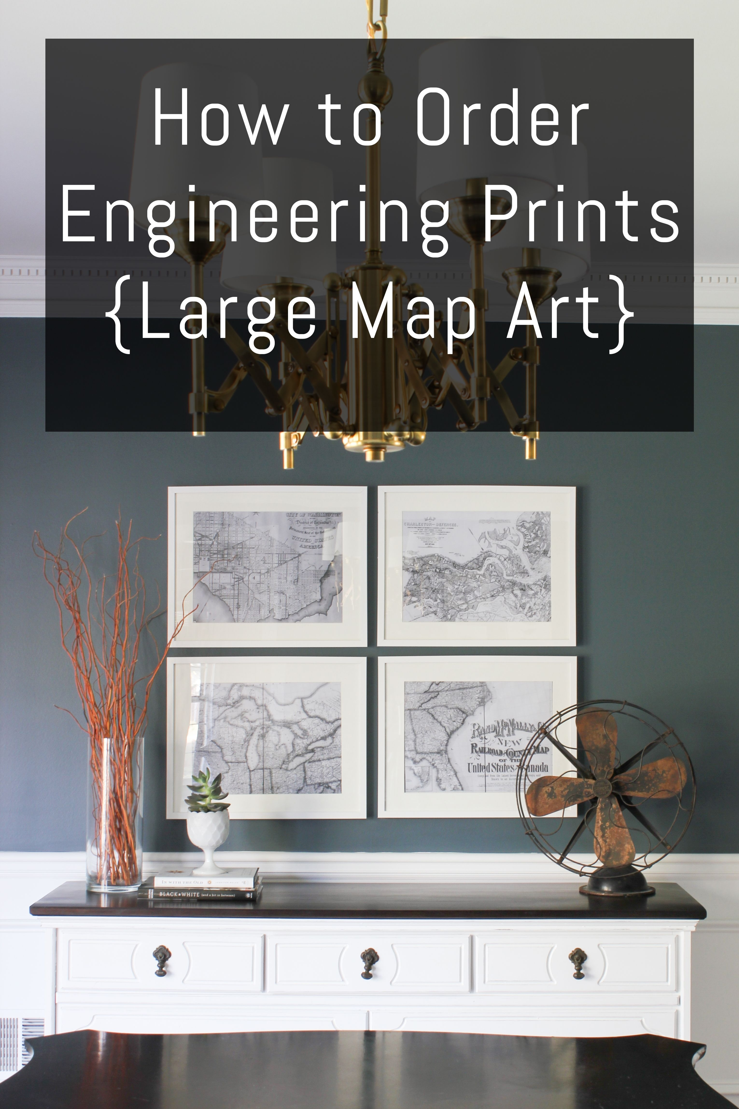 How To Order Engineering Prints {Large Map Art | Es – Diy Within Most Current Cheap Large Wall Art (View 14 of 20)