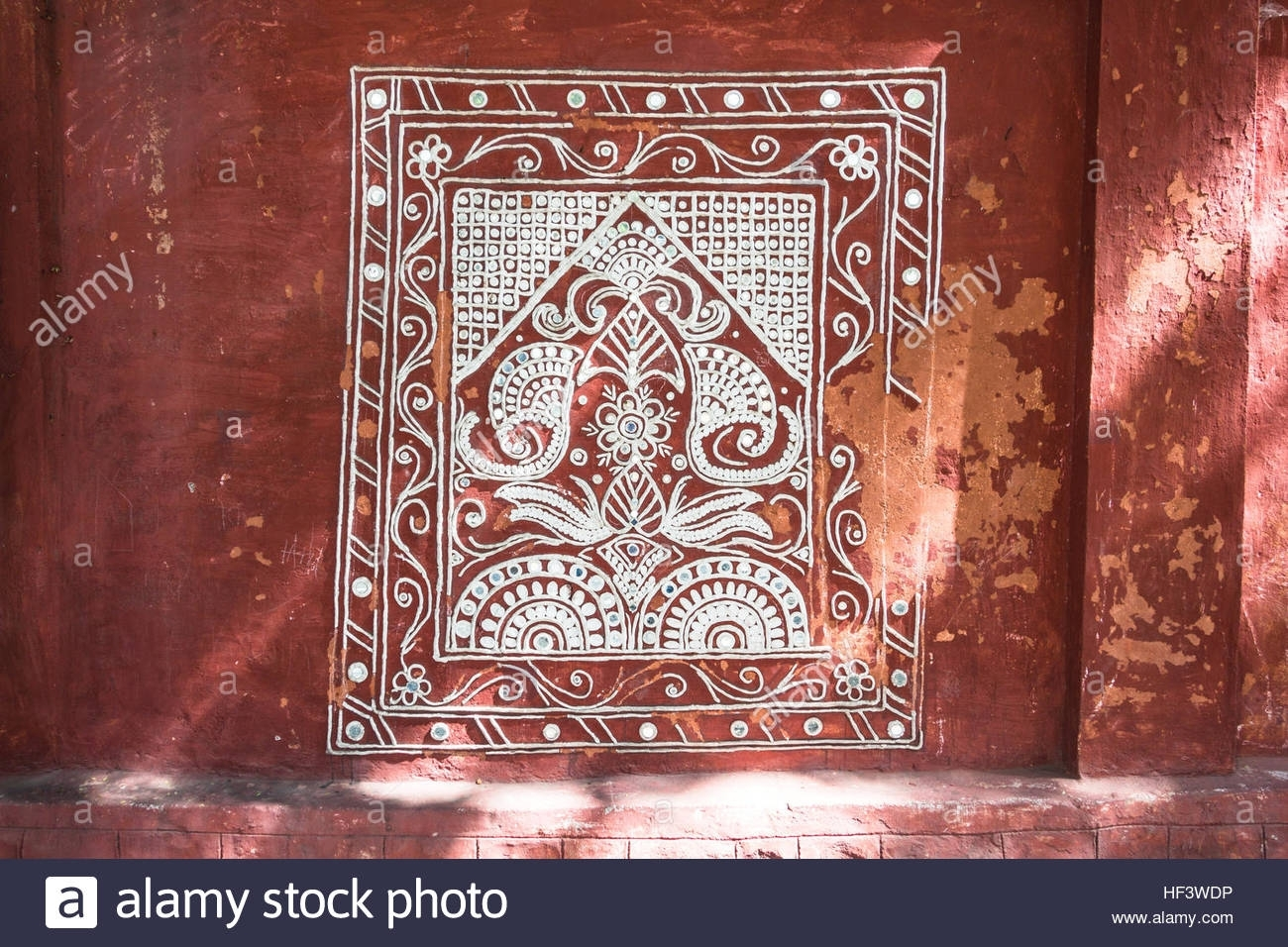 Hyderabad, India – December 24,2016 Traditional Indian Wall Art Pertaining To Best And Newest Traditional Wall Art (View 7 of 15)