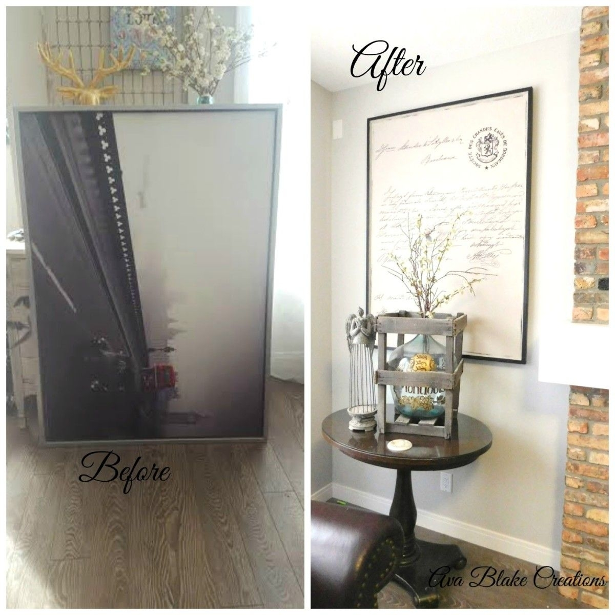 Ikea Wall Art To French Letter Hack | Ikea | Pinterest | Walls Pertaining To Latest Ikea Wall Art (View 13 of 15)