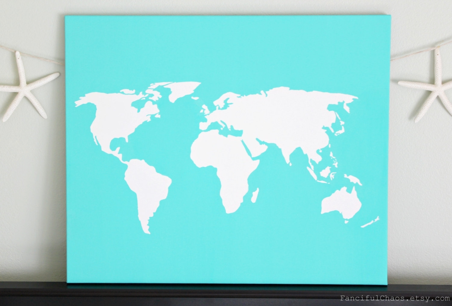 Il Fullxfull 540289865 6G0P Jpg Version 0 For Diy World Map Wall With Most Recent Diy World Map Wall Art (View 14 of 20)