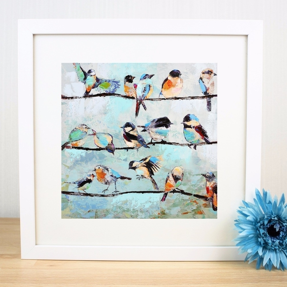 Image Gallery Of Birds On A Wire Wall Art View 11 15 Photos Lively Throughout Most Up To Date Birds On A Wire Wall Art (View 15 of 20)