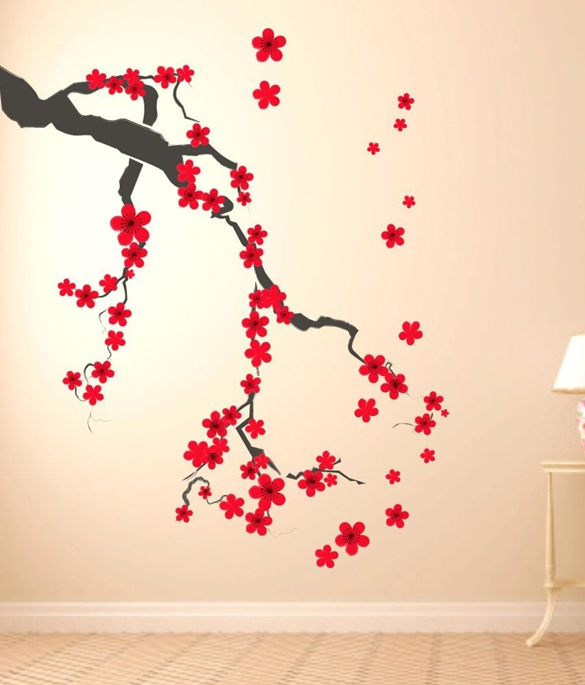 Impression Wall Tree Art Design Wall Sticker – Buy Impression Wall Inside Current Wall Tree Art (View 8 of 20)
