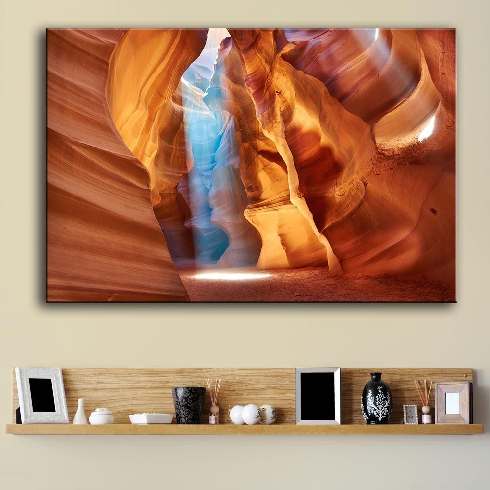 Incredible Mountains Wall Art At Zellart Canvas Of Arizona Popular Within Current Arizona Wall Art (View 11 of 20)