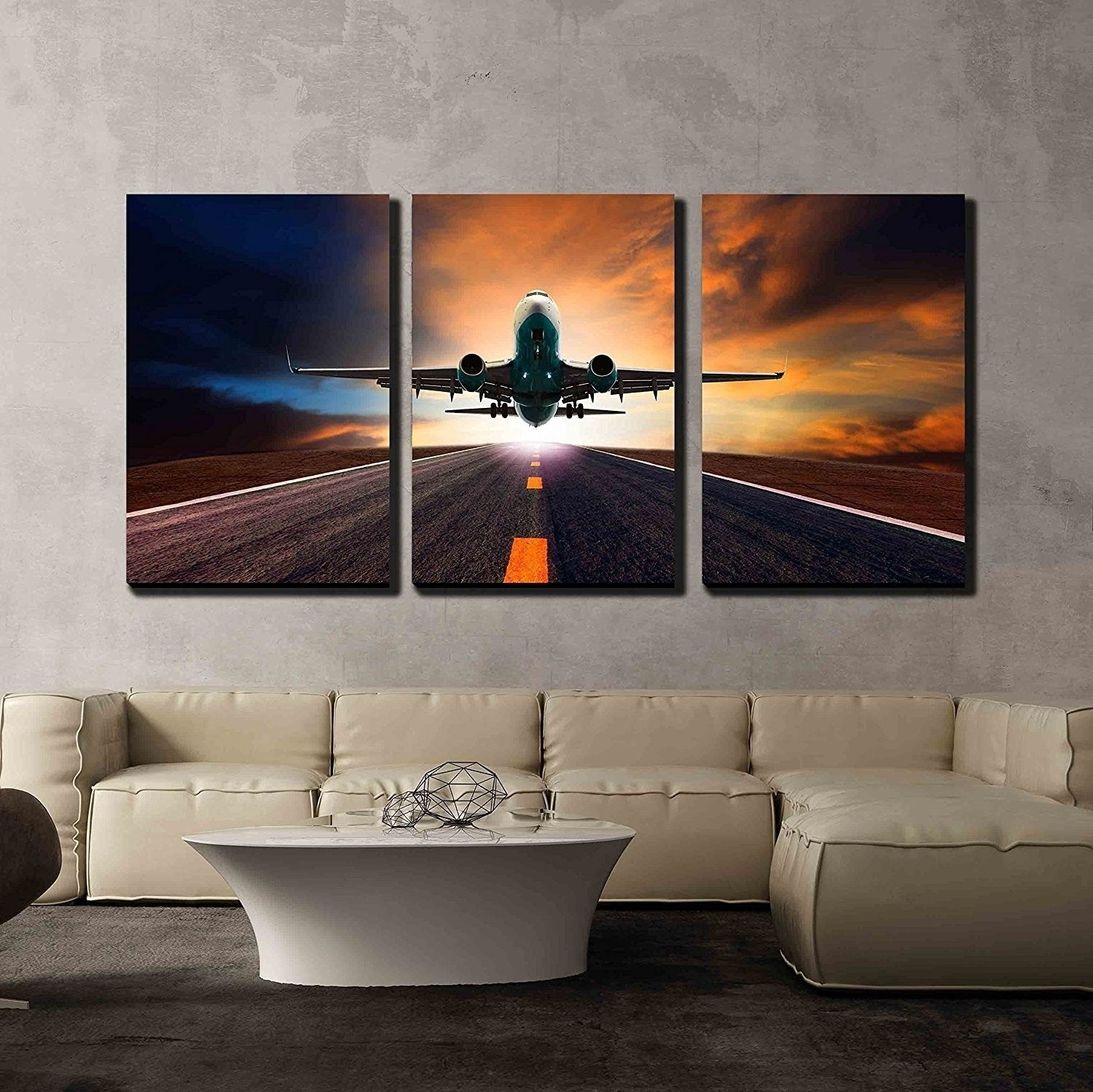 Incredible View Photos Of Multi Piece Canvas Wall Art Showing Pict Regarding Most Up To Date Multi Piece Wall Art (View 8 of 20)