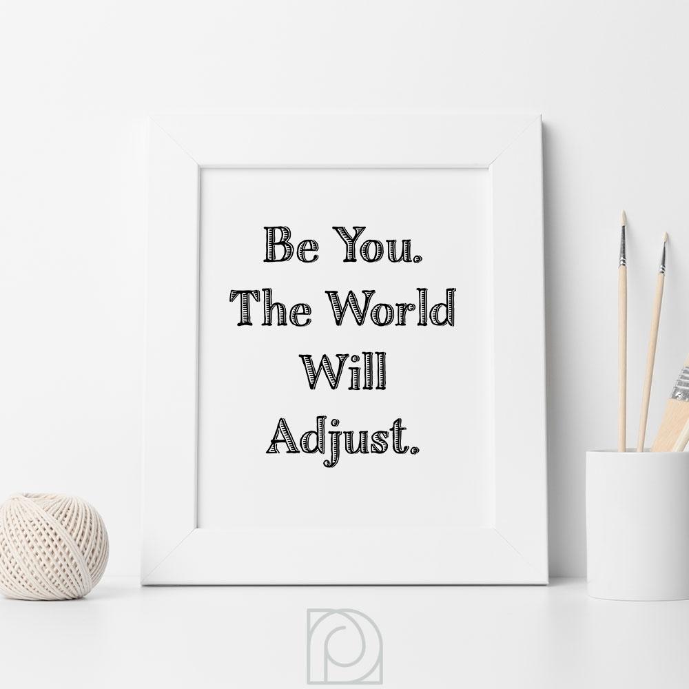 Inspirational Print, Printable Wall Art, Motivational Art, Printable Throughout 2018 Teen Wall Art (View 11 of 20)