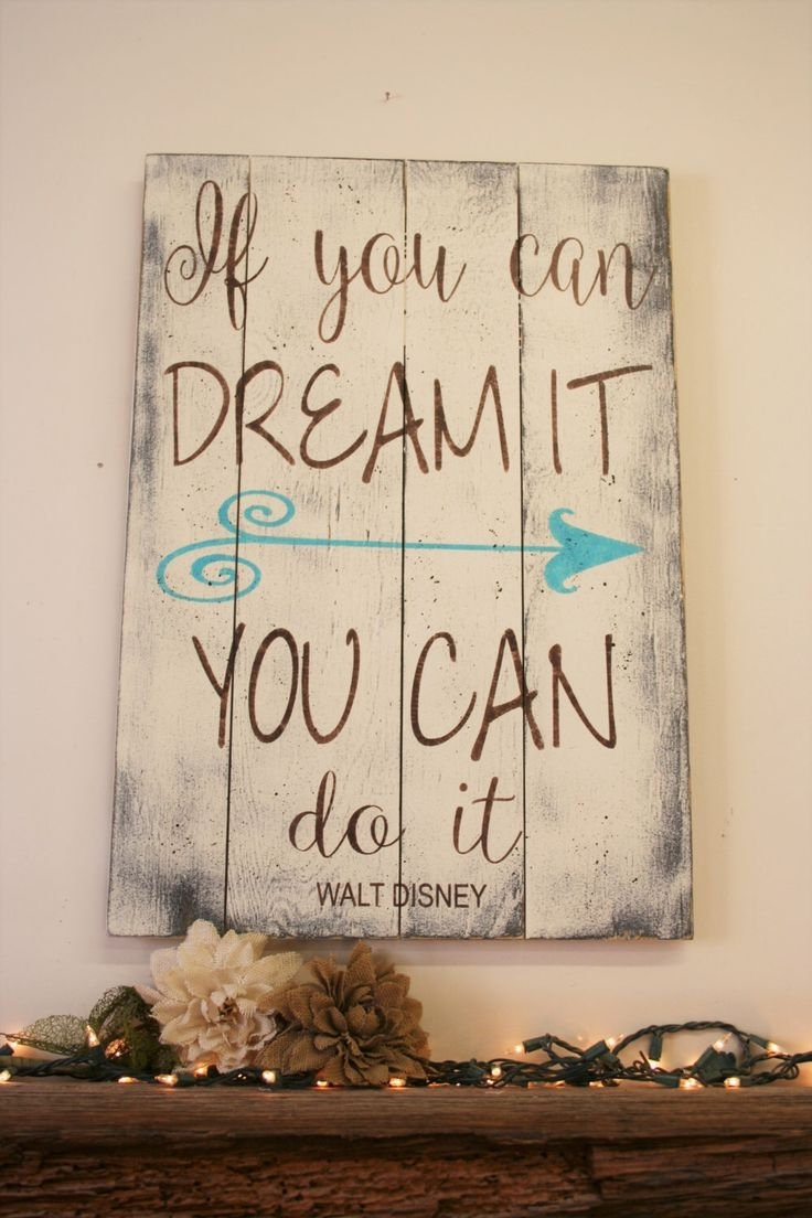 Inspirational Wall Art – Www.fitful For Most Current Motivational Wall Art (Gallery 11 of 20)