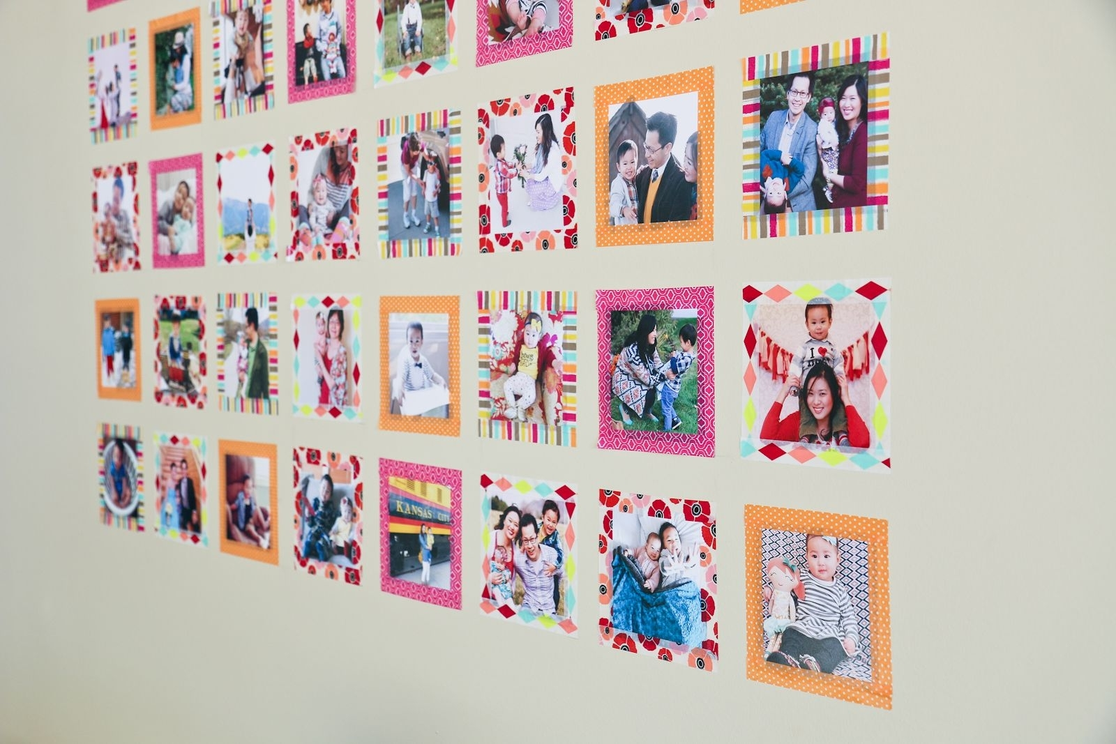 Instagram Wall Art With Washi Tape | Instagram Wall And Walls Within Most Popular Instagram Wall Art (Gallery 7 of 20)
