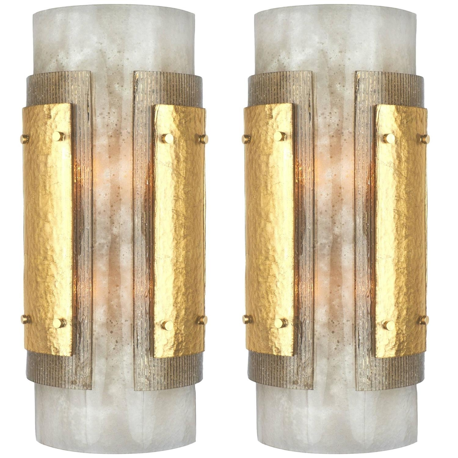 Italian Art Deco Murano Glass Wall Sconces With Best And Newest Art Deco Wall Sconces (View 14 of 20)